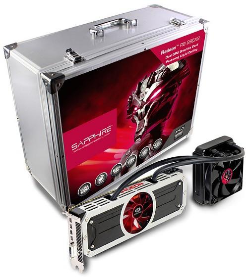 Разогнанный адаптер Radeon R9 295X2 от Sapphire Technology