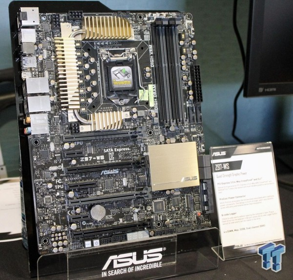 Плата для рабочих станций на базе логики Intel 9 Series