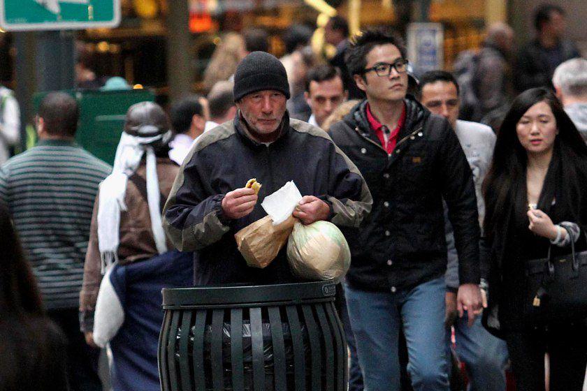 В Нью-Йорке Ричарда Гира приняли за бездомного (ФОТО, ВИДЕО)