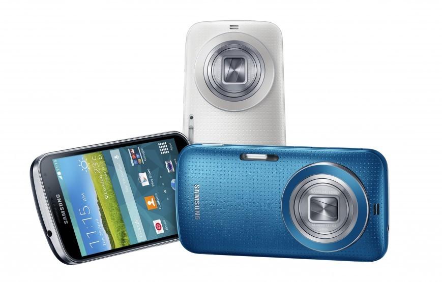 Смартфон Galaxy K zoom с 10х оптическим зумом от Samsung
