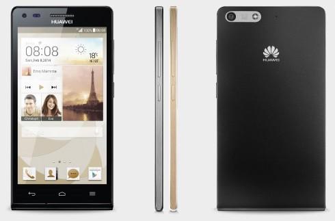 Мини-версия будущего флагмана: Huawei Ascend P7 mini