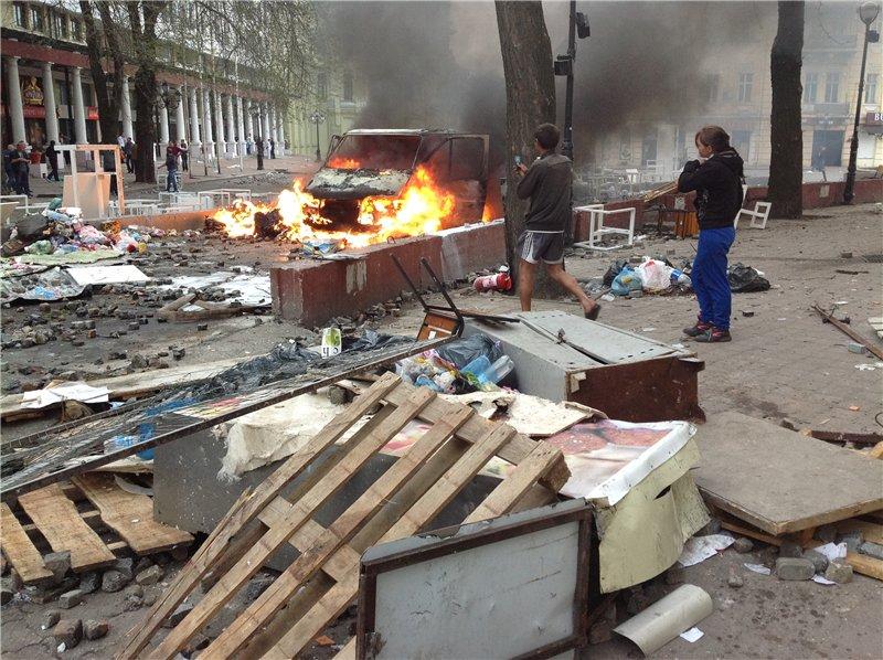 Кровавое массовое побоище в Одессе (ФОТО, ВИДЕО)