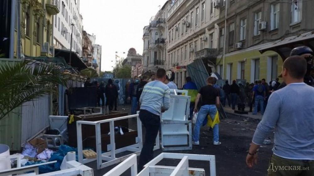 За кровавую бойню в Одессе задержали 130 человек