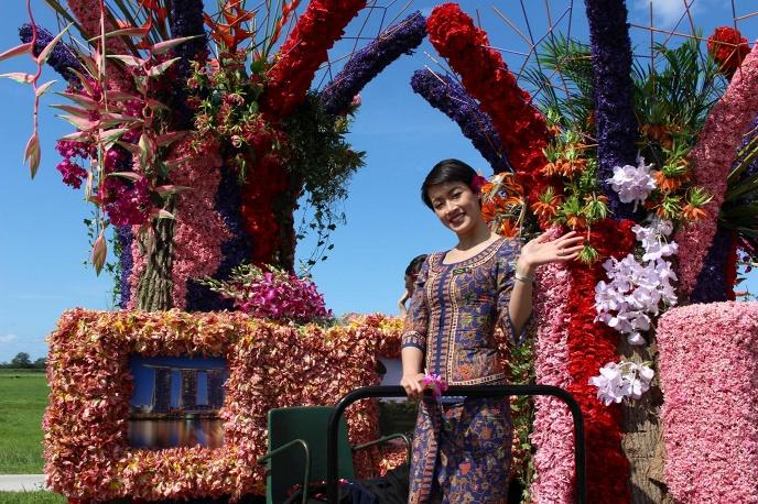 В Нидерландах состоялся Парад цветов (ФОТО)