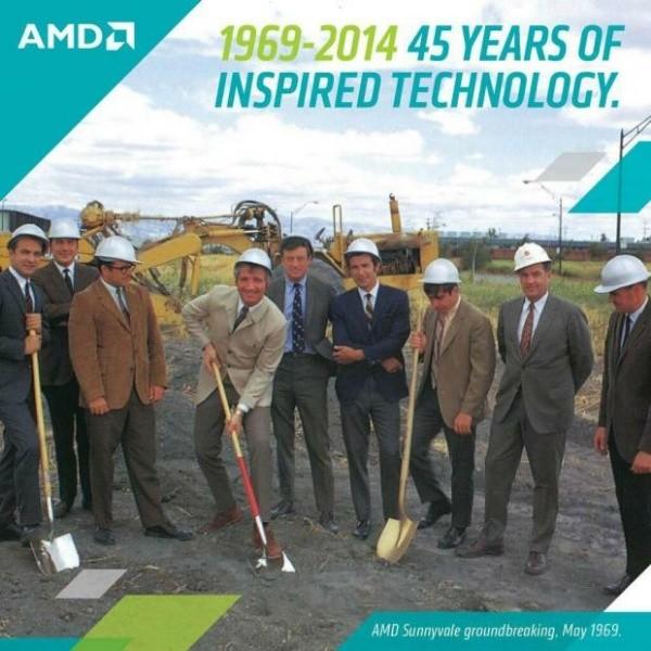 AMD исполнилось 45 лет