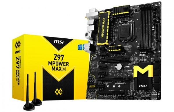 MSI запускает серию материнских плат Z97 OC Series