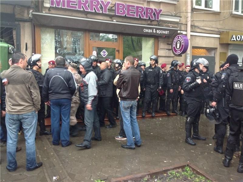 Одесское МВД оправдывает бездействие милиции 2 мая. ФОТО