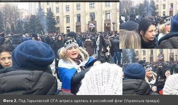 """Киевская """"солдатская мать"""" оказалась на митинге в Москве"""