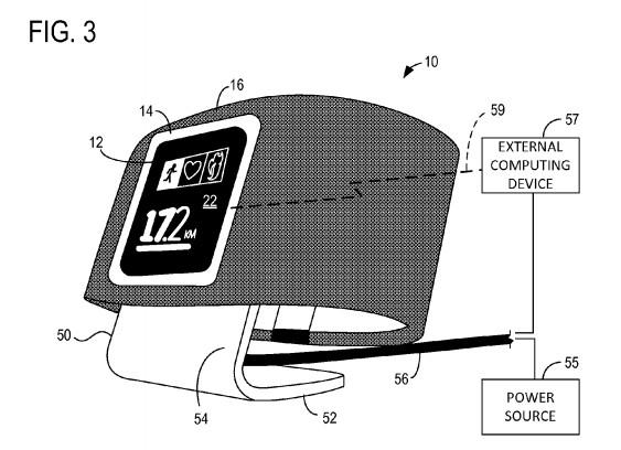 Компания Microsoft запатентовала смарт-часы для спорта