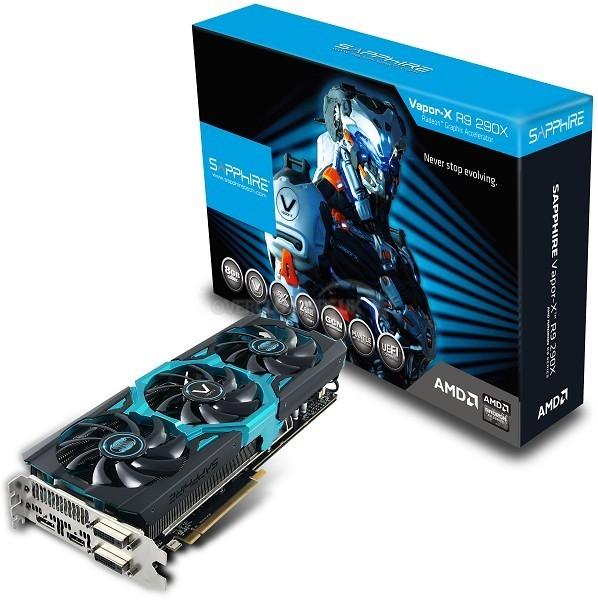 Видеокарта Sapphire Radeon R9 290X Vapor-X 8 GB