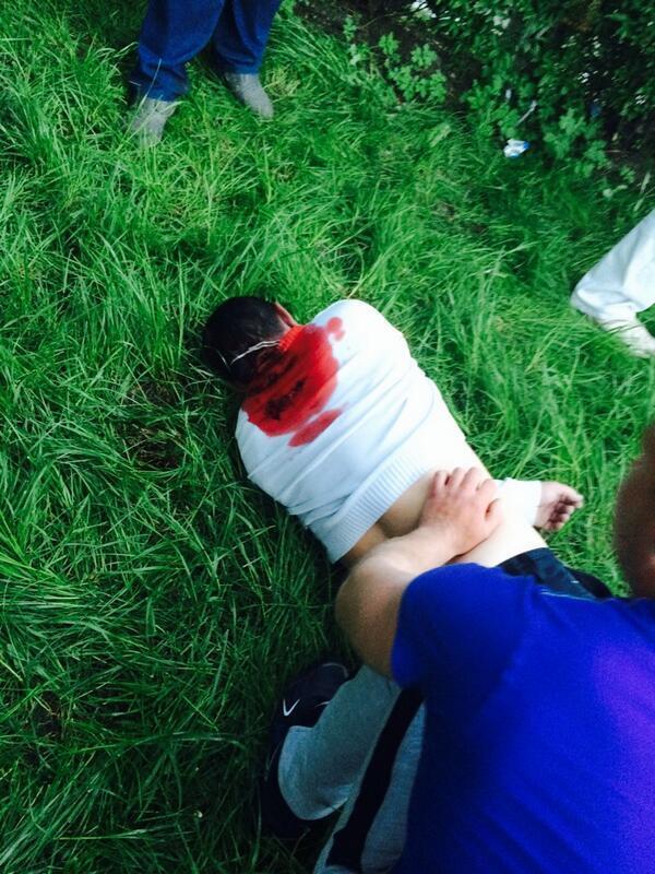 В Красноармейске стреляют, есть убитый, раненые. ФОТО+ВИДЕО