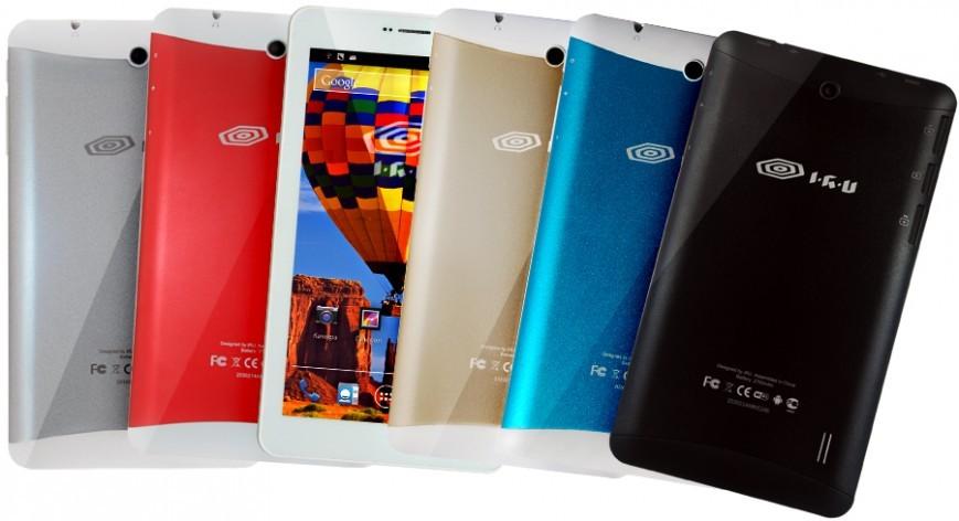 Планшет iRU M713 поддерживает две SIM-карты