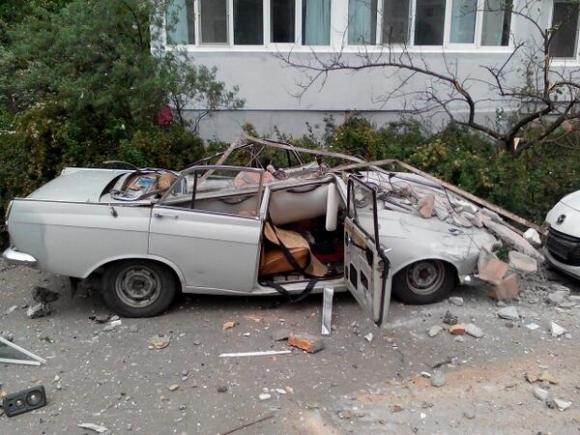 В Николаеве взорвался многоэтажный дом (ФОТО)