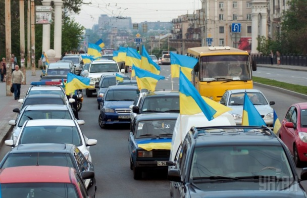 В Запорожье прошел невероятный парад вышиванок (ФОТО)