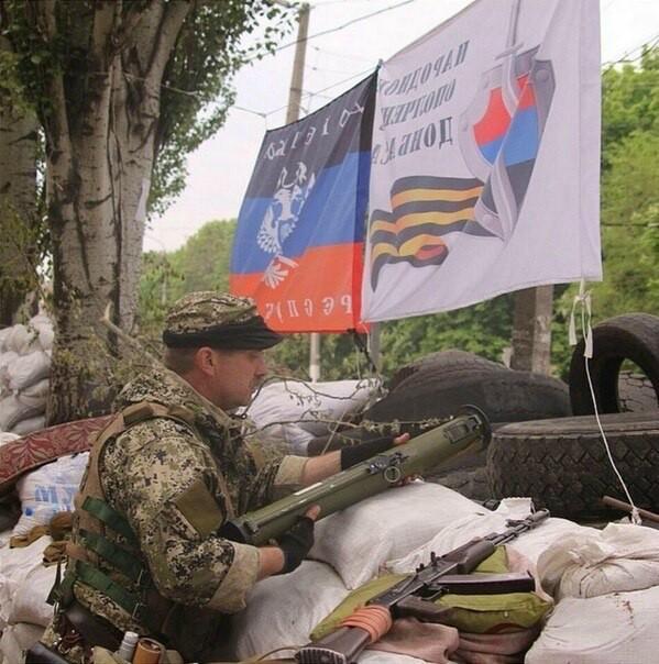 Славянск всю ночь не спал из-за стрельбы из гаубицы