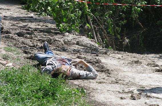В Макеевке террористы подстрелили бабушку и внука (ФОТО)
