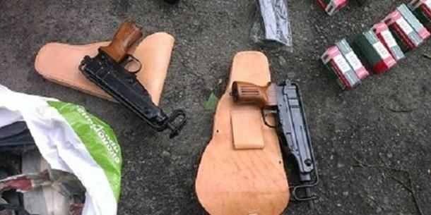 В Киеве изъяли крупную партию оружия и взрывчатки, - МВД