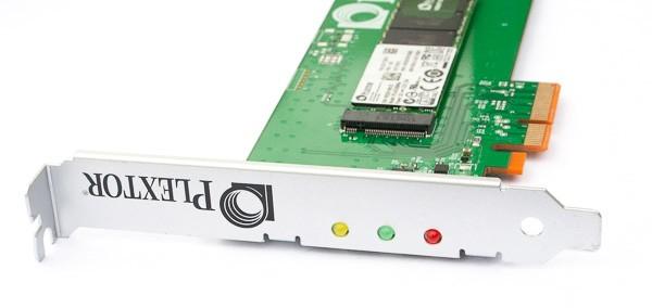 SSD-накопители Plextor M6e с интерфейсом PCI Express
