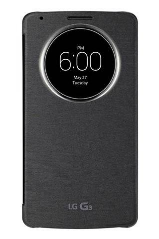 Чехол для флагманского смартфона G3: LG QuickCircle