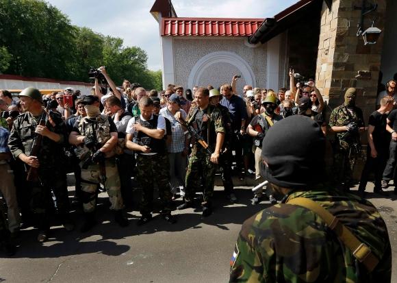 Атака  ДНР на Рината Ахметова в Донецке. Хроника событий