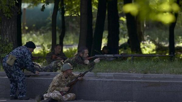 Силовики разгромили блокпост террористов под Донецком (ФОТО)