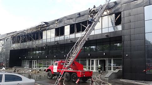 "Дворец спорта ""Дружба"" в Донецке перед поджогом ограбили"