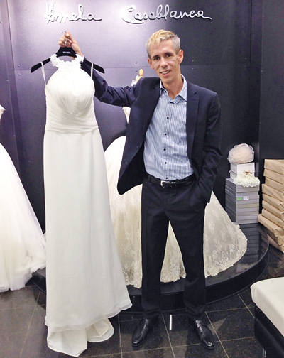 Алексей Панин купил подвенечное платье (ФОТО)