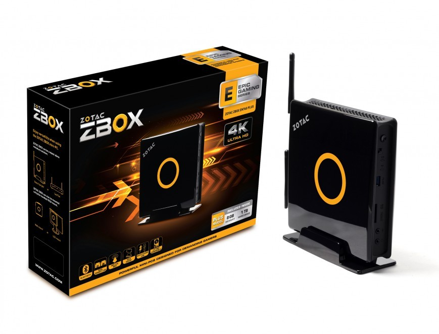 Компания Zotac представила игровой мини-ПК ZBOX EN760