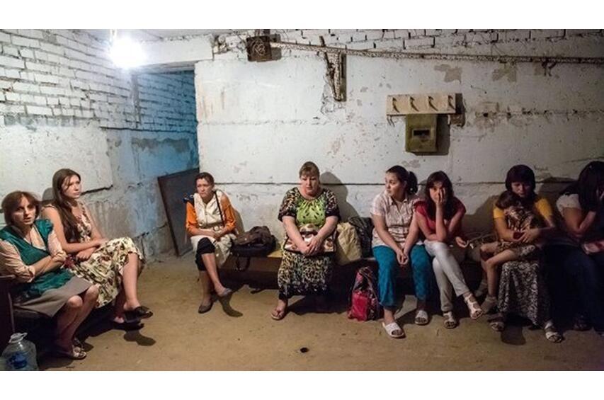 Кадыровцы стреляют по жилым кварталам Славянска. ФОТО, ВИДЕО
