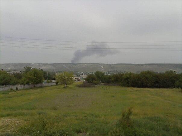 Соц-сети: В районе Славянска сбит вертолет (ФОТО)