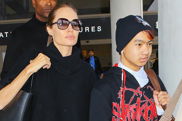 """Анджелина Джоли: """"У Мэддокса есть девушка!"""" (ФОТО)"""