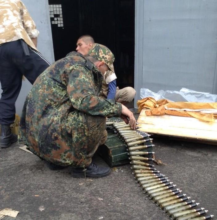 Террористы в Славянске размещают на крышах пулеметы (ФОТО)