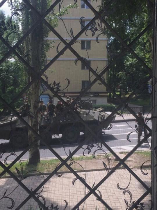 В Донецке в ходе боев ранены 5 мирных жителей (ФОТО)