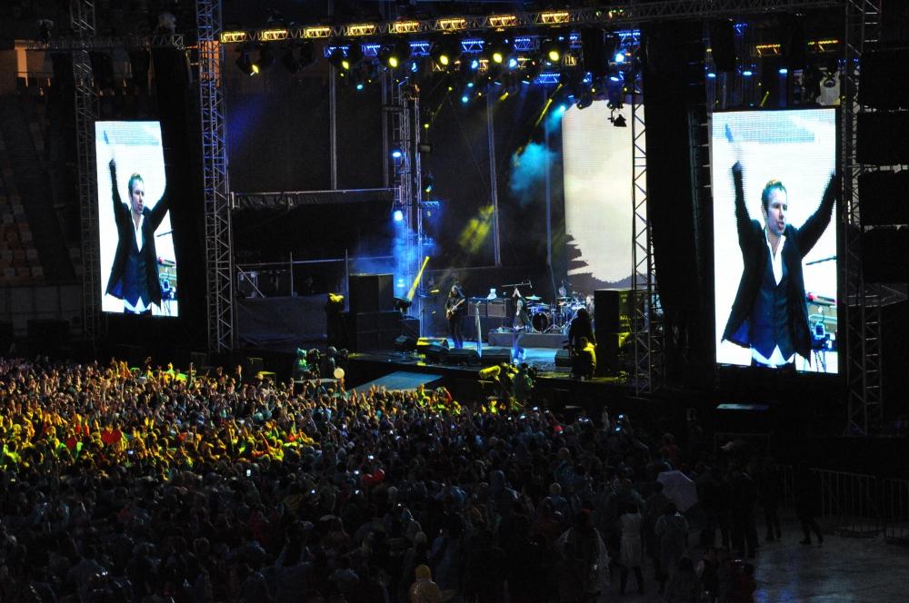 """На концерт """"Океан Ельзи"""" во Львове пришло 30 000 фанатов"""