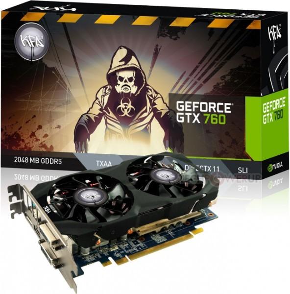 Галакси произвела свежую версию KFA2 GeForce GTX 760 EX OC