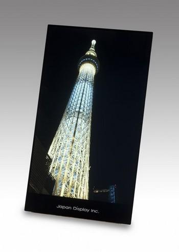 Japan Display покажет 7-дюймовый дисплей WQXGA