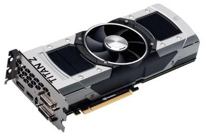 Организация EVGA продемонстрировала карту памяти GeForce GTX Титан Z