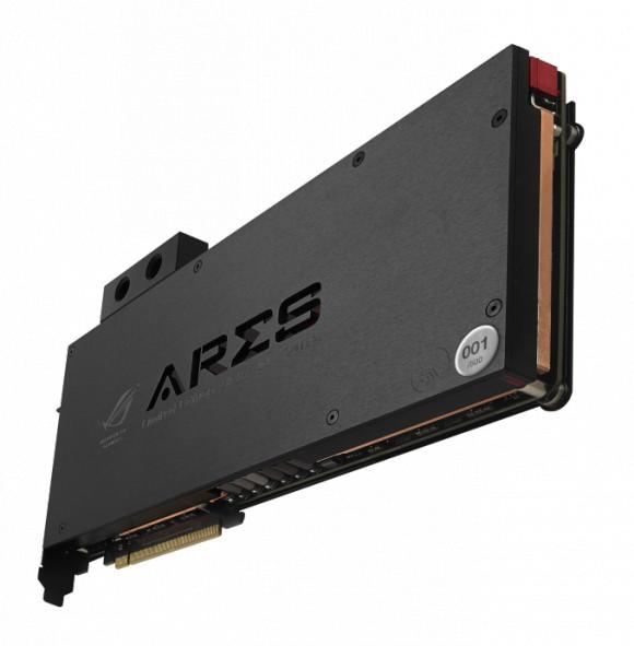 Производительная карта памяти ASUS ROG ARES III с водоблоком EK