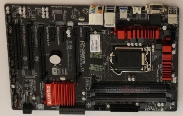 Gigabyte продемонстрировала прекрасно оборудованную оплату Z97X-SLI