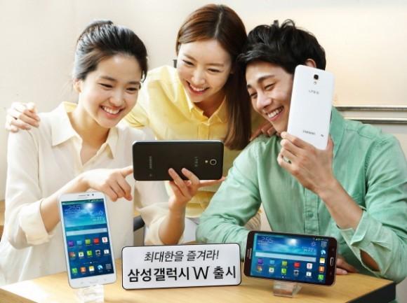 Организация «Самсунг» произвела 7-дюймовый фаблет в Корее