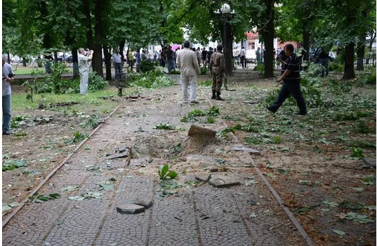 Тест производительного взрыва в Луганске 2 июля (ФОТО, ВИДЕО)