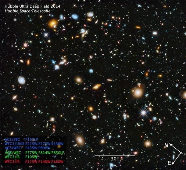 НАСА обнародовало самый прекрасный фотоснимок Вселенной (ФОТО)