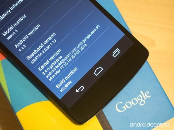Организация Google произвела Андроид 4.4.3 KitKat