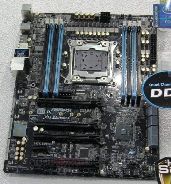 ASRock Х99 Extreme4 и Х99 Extreme6: оперативные памяти
