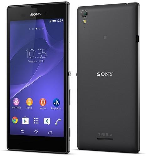 "Узкий 5,3"" Android-смартфон Сони Xperia T3"