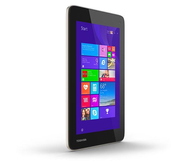 Toshiba продемонстрировала 7-дюймовый планшетник на Виндоус