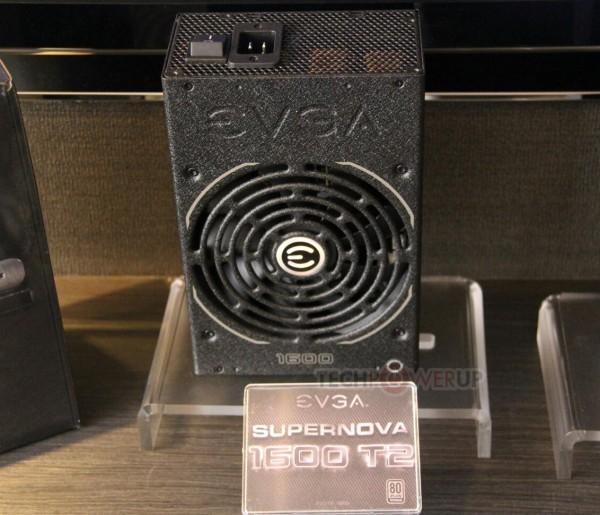 EVGA продемонстрировала 3 блока питания Supernova 1600 Вт