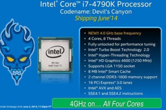 Intel Core i5-4690K и Core i7-4790K: производительные микропроцессоры