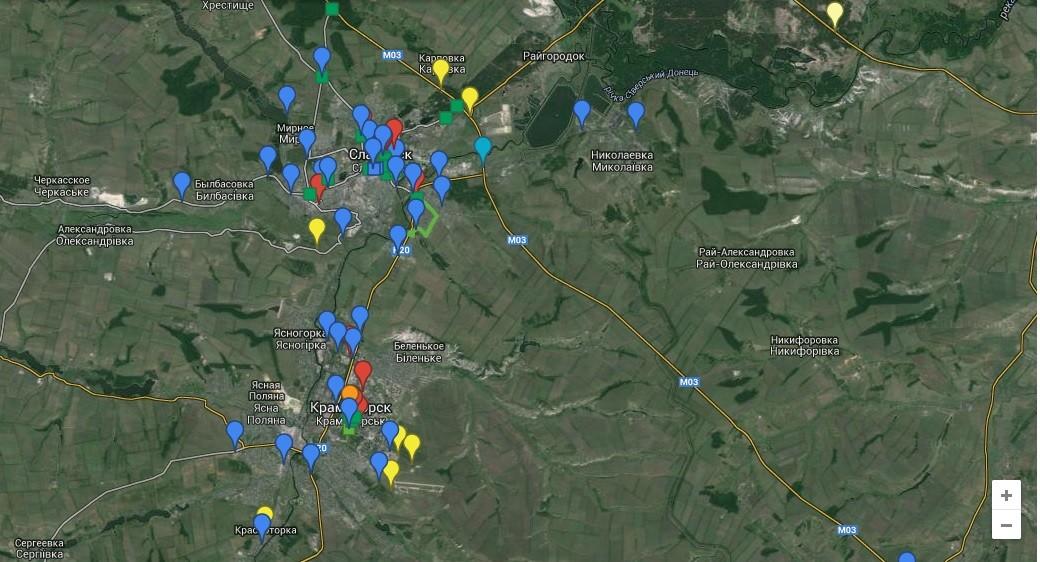 Уберечься из Донецка: Пути выезда закрыты (ФОТО, ВИДЕО)