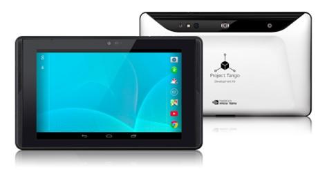 Google продемонстрировала планшетник Project Tango (ФОТО)